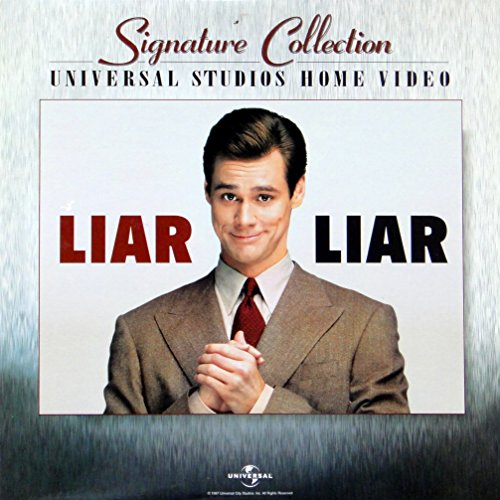 Liar Liar Signature Collection LaserDisc - Not a DVD or VHS, Must have a Laserdisc Player