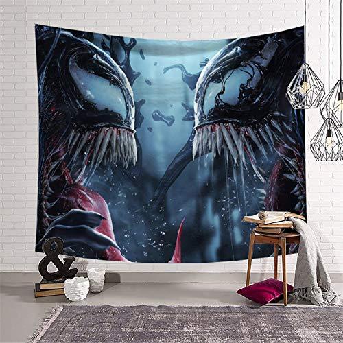Tapiz de collage para decoración de pared, diseño de veneno, 180 x 230 cm