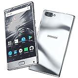 Smartphone in Offerta, DOOGEE MIX Android 7.0 MediaTek Helio P25 64-bit Octa-core Telefonia Mobile - 5.5 Pollici Bezel-less Schermo 4G Telefoni Cellulari - 6GB RAM+64GB ROM- 3380mAh - 6MP+8MP -Argento
