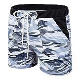 Luiyy Bañadores de natación Pantalones Cortos de los Hombres de Secado rápido Playa Surf Corriendo Pantalones Cortos de natación Boxeadores Ligero Shorts Trajes de Baño