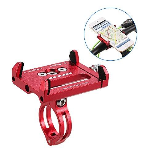 Lixada Porta Telefono Bici Mountain Bike Telefono Montare Universale Regolabile Bicicletta Cellulare GPS Culla Morsetto