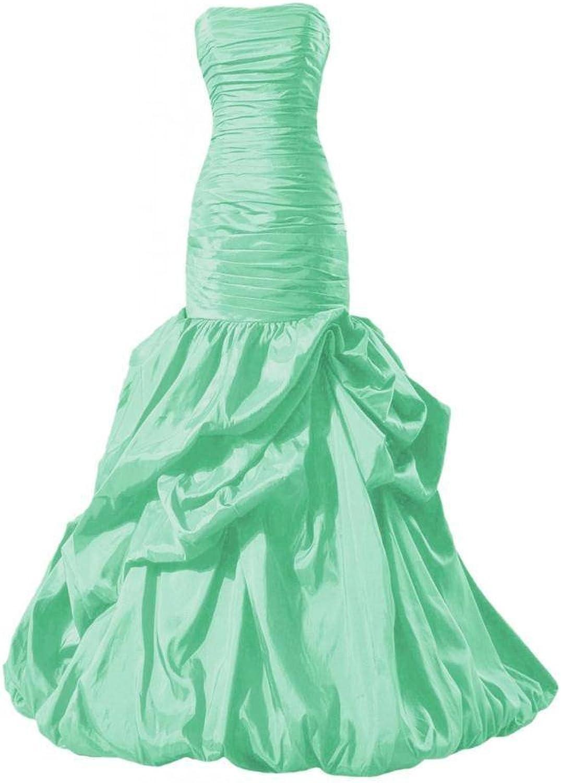 DaisyFormals® Long Strapless Dress Taffeta Special Occasion Dress(PR2726)