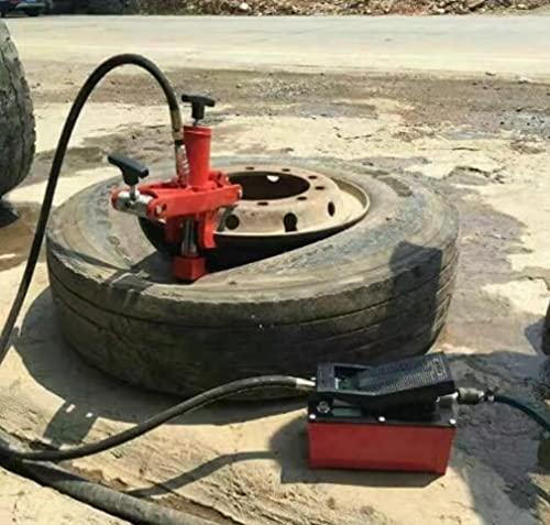 ZGQA-GQA Pneu Piertaine Pneumatique Pneumatique Pneumatique Pneumatique Machine de pneu grillée (dispositif de dénudage hydraulique) (Color : Double step)