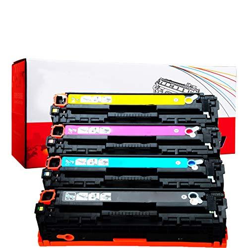 RRWW Cartucho de tóner MF8000 para impresora Canon MF8000, MF8030, 5050, 8050, 8080, 8010CN CRG416M, 4 unidades, negro, cian, magenta y amarillo