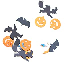 Pumpkin Bats 25 gram Pack Skulls Halloween Party Table Confetti Scatters Decorations Witch on Broom and More 5 Styles