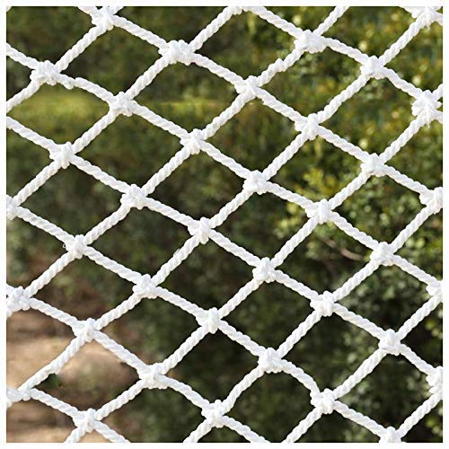 JFFFFWI Garden Netting Protect Net,Stair Cat Child Fence Balcony Protection Anti-fall Net Decoration Safety Net,Cargo Net Garden Plant Pet Net Isolation Fence Outdoor Obstacle Lattice Goal