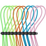 10 Sets Bungee Cord Strap Kit for Swim Goggles,...