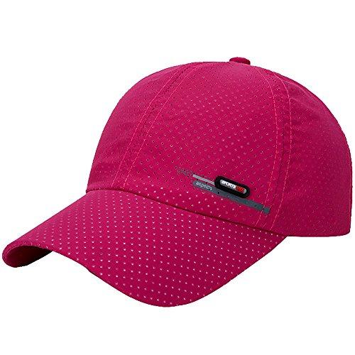 FRAUIT baseballcap voor dames en heren, golf zonnehoed modieuze hoed vissen, zonnecrème, baseballpet ademend, punch quick dry cap