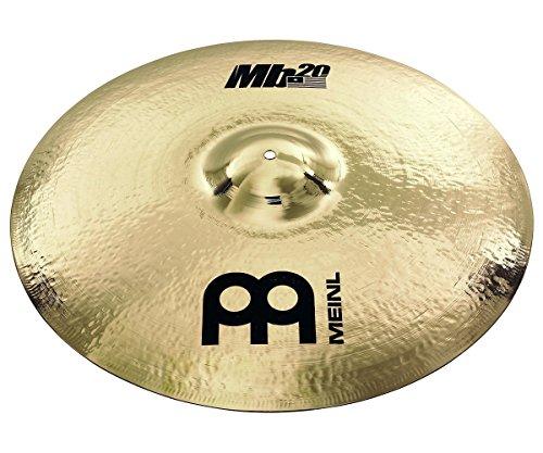 Meinl Cymbals MB20-24PMR-B MB20 Serie 60,9 cm (24 Zoll) Pure Metal Ride Brilliant Becken Chris Adler Signature inkl. MCB24-CA Beckentasche