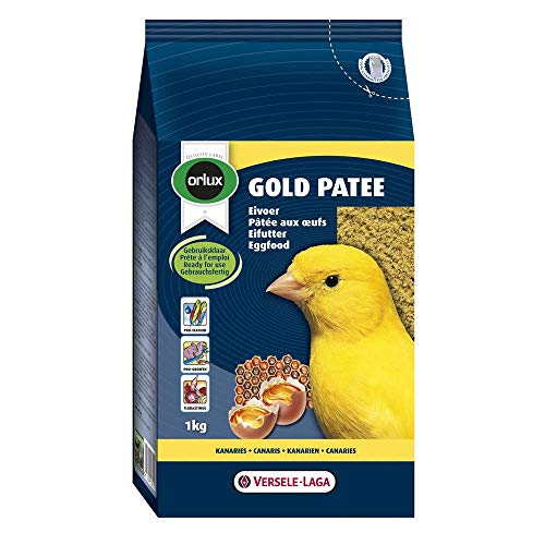 Orlux Gold Patee Eggfood Canary Bird Food 1kg-1kg