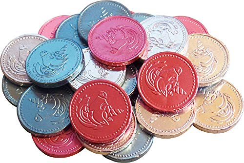 Chocolate Unicorn Coins (pak van 25)