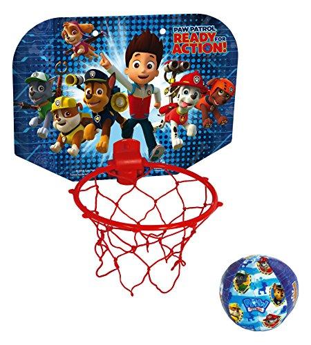 PAW PATROL - Mini Basket, Juego de Aire Libre (Saica Toys 7491)