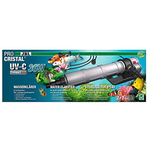 JBL Clarificateur d'eau, PROCRISTAL UV-C Compact plus, 36 W, Câble 5M