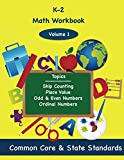 K-2 Math Volume 1: Skip Counting, Place Value, Odd and Even Numbers, Ordinal...