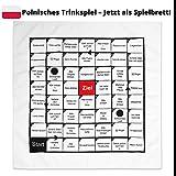 Hoch – die – Haende – Wochenende!, Polnisches Trinkspiel als Tischdecke, 70 x 70 cm, 54...