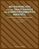Intervención en los trastornos del comportamiento infantil: Una perspectiva conductual de sistemas (Psicología) - 9788436817119