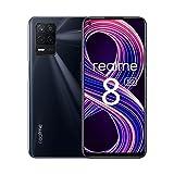 """realme 8 5G Smartphone 6.5"""",Processore 5G Dimensity 700,Display Ultra Liscio 90HZ,Batteria da 5000 mAh,Ricarica Rapida 18W,Fotocamera 48 MP con Modalità Nightscape,NFC,Dual-SIM,8+128 GB(Nero)"""