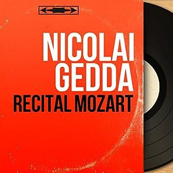 Récital Mozart (Mono Version)