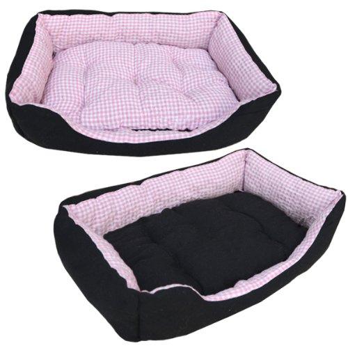 EYEPOWER Tierbett Hundebett Katzenbett Tierkissen Slim S Pink