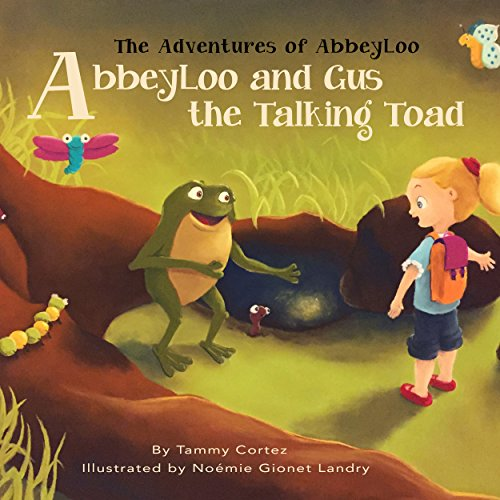AbbeyLoo and Gus the Talking Toad audiobook cover art