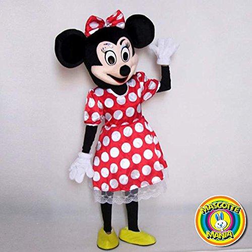 Mascotte Minnie Clásico