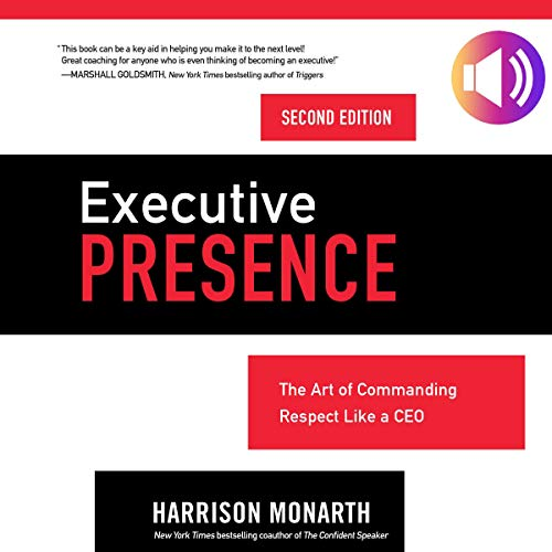 Executive Presence, Second Edition audiobook cover art