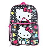 Sanrio Hello Kitty 16' Backpack With Detachable Matching Lunch Box