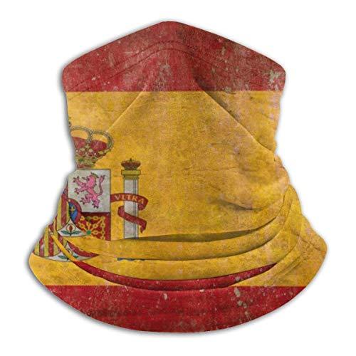Pasamontañas Campana de pasamontañas cómoda de bandera española vintage