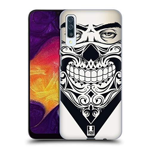 Head Case Designs Skull Bandana Hard Back Case Compatible for Samsung Galaxy A50s (2019)
