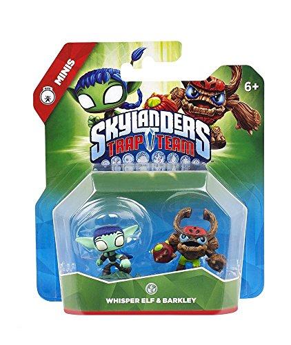 Skylanders - Trap Team Mini Figur: Whisper Elf + Barkley