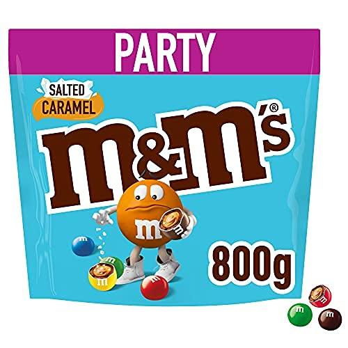 M&M\'S   Salted Caramel   Schokoladeneier mit salzigem Karamellkern   Eine Packung (1 x 800 g)