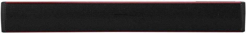 Rouge Barre de Son Haut-Parleur PC Haut-Parleur Barre de Son USB Pilote de Jeu Haut-Parleur Barre de Son Subwoofer Haut-Parleur pour PS4//ordinateur Portable//PC
