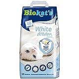 Biokat's White Dream Classic - Feine Katzenstreu aus weißem Naturton für feste Klumpen und starke Geruchsbindung - 1 Sack (1 x 12 L)
