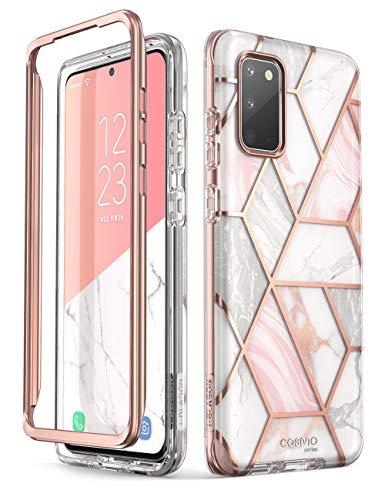 i-Blason Handyhülle für Samsung Galaxy S20 Hülle Glitzer Case Bumper Schutzhülle Glänzend Cover [Cosmo] OHNE Displayschutz 6.2 Zoll 2020 Ausgabe, Schwarz