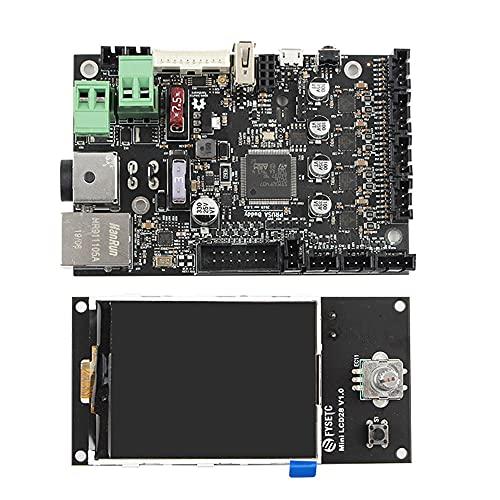 Joliy 3D Drucker Base Control Board mit TMC2209 Mute Driver Printer Clone Mainboard mit Mini LCD Display für Prusa Mini - Wie abgebildet 1 GRÖSSE