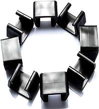 Clip per mobili, 10 pezzi Clip di allineamento per mobili in vimini per patio esterno, Divano per sedia in rattan Elementi...