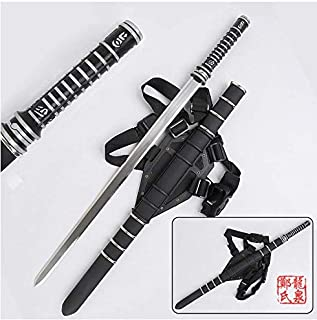 for Daywalker Sword Blade : Trinity Movie w/Leather Back Sheath Stainless Steel Blade Zinc Handle Collectible Supply