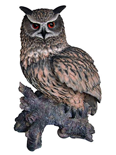 Mish Mash Gifts Vivid Arts Real Life Large Eagle Owl Home or Garden Ornament (XRL-EGWL-A)