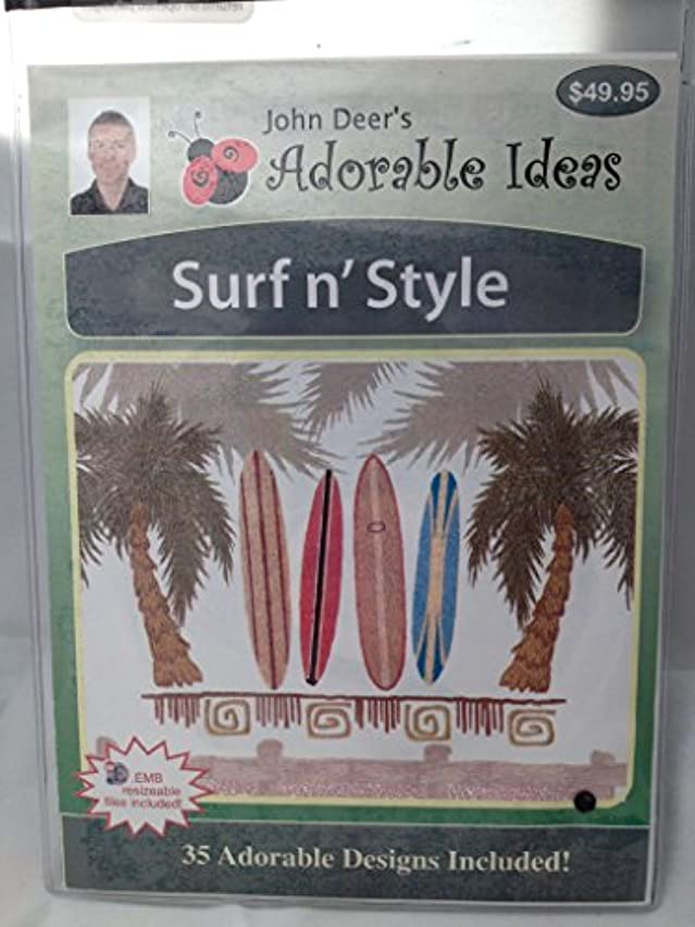 John Deer's Adorable Ideas 35 Embroidery Designs Surf n' Style