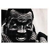 XuFan Elvin Jones Amazing Image Jazz Master Drummer Miles Davis Coltrane Wall Poster Art Canvas Home Decoration/60X80cm-No Frame