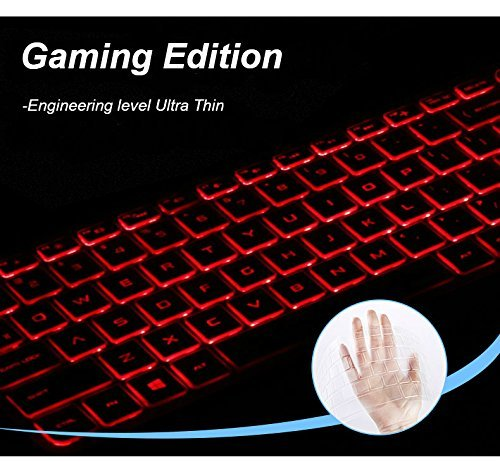 "Keyboard Cover Compatible with Acer Gaming Laptop Predator Helios 300 500 15.6"" 17.3"" Series Model PH315-51 PH317-52 /Acer Nitro 5 AN515 /Acer VX5-591G VN7-793G (Gaming Edition)"