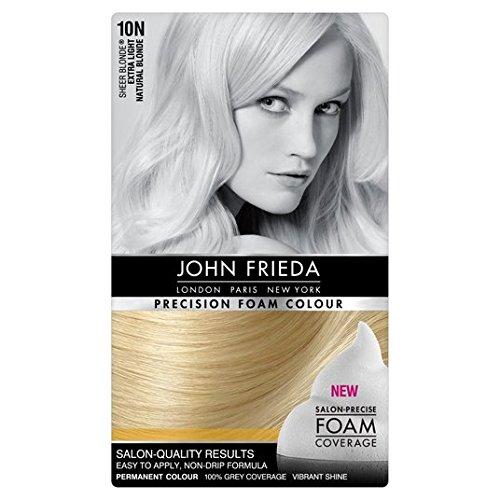 John Frieda Precision espuma color extra 10N Rubio