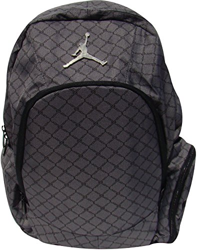 Nike Jordan Graphite Backpack Laptop Sleeve/Protection Audio Pocket