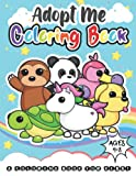 Coloring Book Adopt Me Pets: For Kids Ages 4-8 (Amazing Design for Adopt Me Fans)
