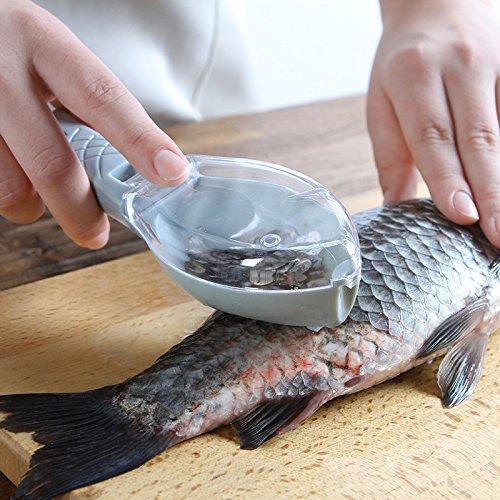 Fischschuppen-Entferner, Fischreiniger, Fischentschupper