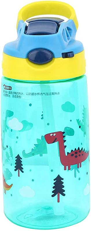 500ml Children S Cup Drinker With Straw Leakproof With Portable Handle Baby Cup PC Material Ideal For Travel And Activities 2