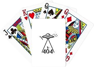 Planetary Spacecraft Searching Humans Poker Playing Magic Card Fun Board Game