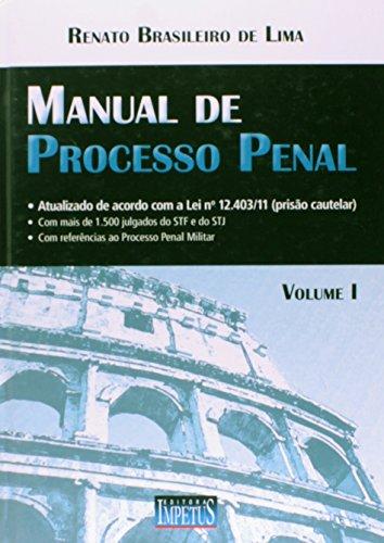 Manual De Processo Penal V.1