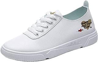 JOJONUNU Women Lace Up Office Shoes