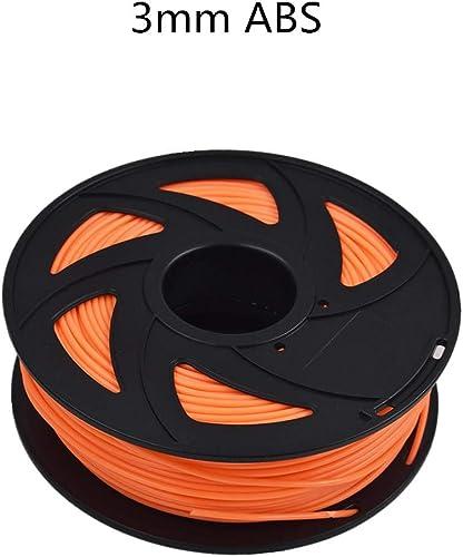 wholesale ABS 3D Printer Filament - 2.20 lb (1KG) The Diameter of 3.00 2021 mm, Dimensional online sale Accuracy ABS Multiple Color (Fluorescent Red) sale
